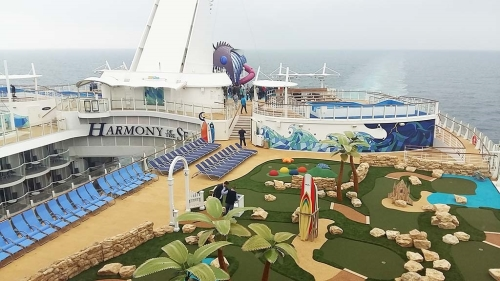 Harmony of the Seas is het derde schip in de Oasis Classe van Royal Caribbean International