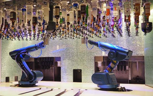 Straks ook op de Harmony of the Seas the Bionic Bar